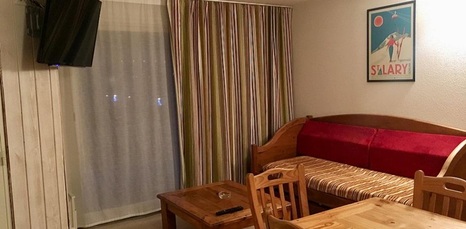 Séjour appartement 2/4 personnes