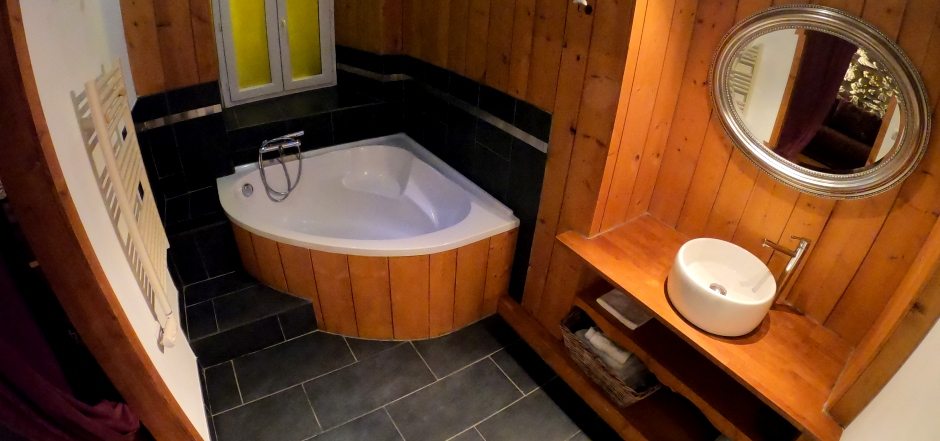 Salle de bain Les 2 Calèches - Ancizan