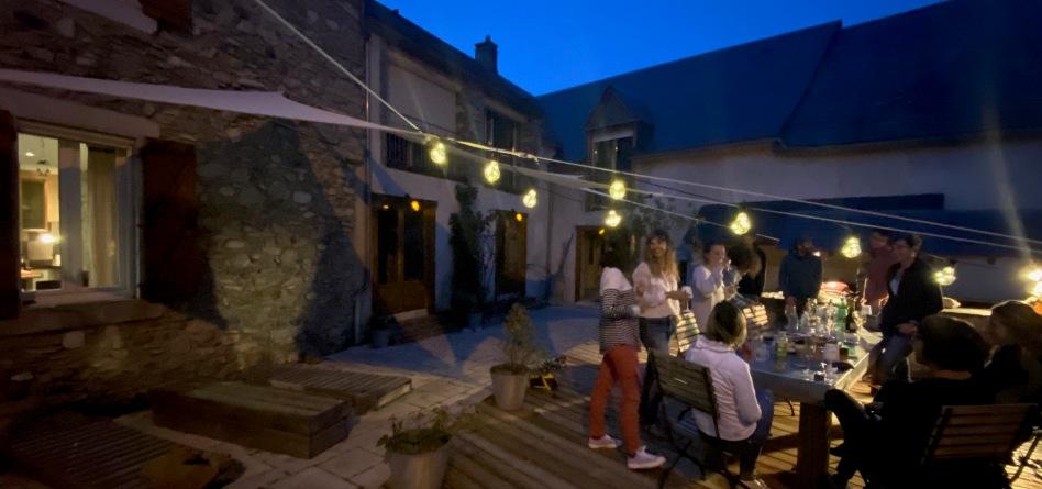 Terrasse Les 2 Calèches - Ancizan